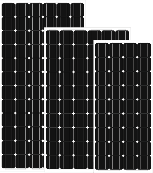 Monocrystalline Solar PV modules