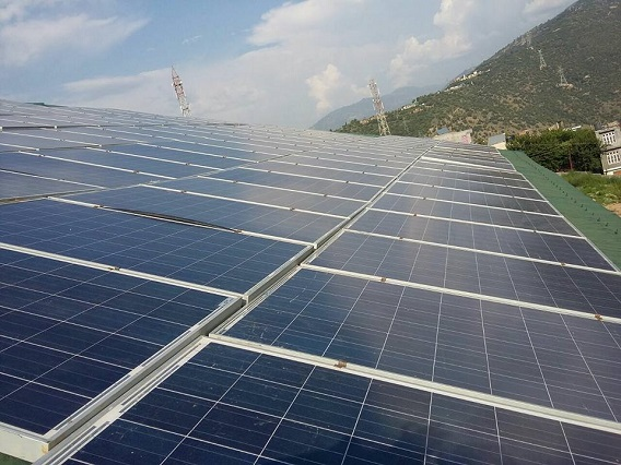 30 KW Solar Power Plant
