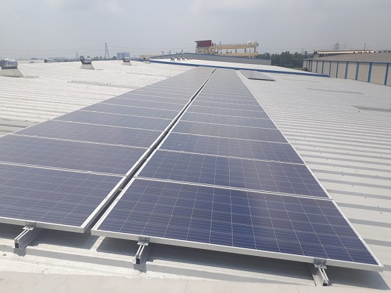 50 KW Solar Power Plant