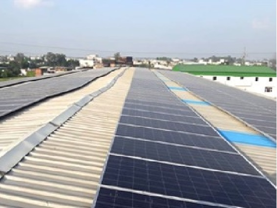 200 KW Solar Power Plant