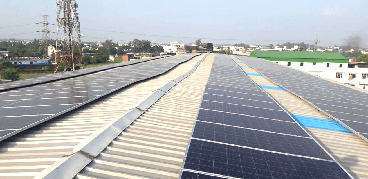 Rooftop Solar Power solutions for homes by Bluebird Solar
